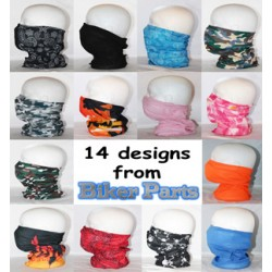 Neck tube mix and match colours